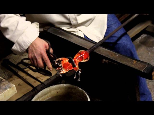Как делают Муранское стекло./ How Murano glass is made.