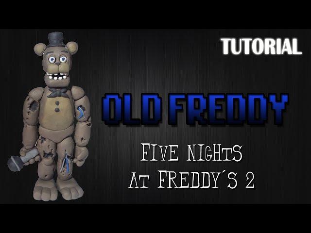 Tutorial Old/Withered Freddy en Plastilina | FNaF 2 | Old/Withered Freddy Clay Tutorial