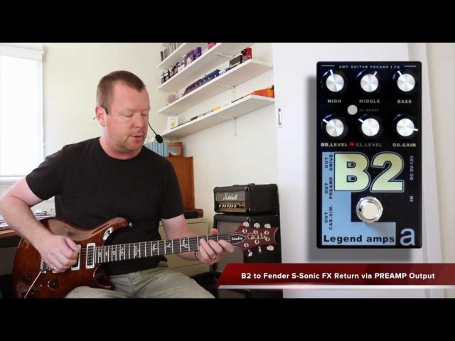 AMT Electronics : B2 Preamp Effects Pedal