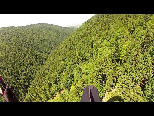 Paragliding Mission Impossible - Lee Side Landing. Landing?