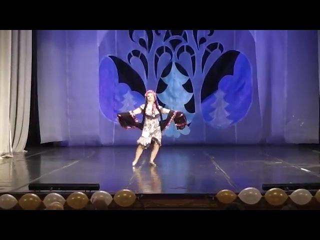 Светлана Шмакова. Эскандарани. Соло фольклор синьоры. Студия Арабского танца Байсан (г.Тамбов)
