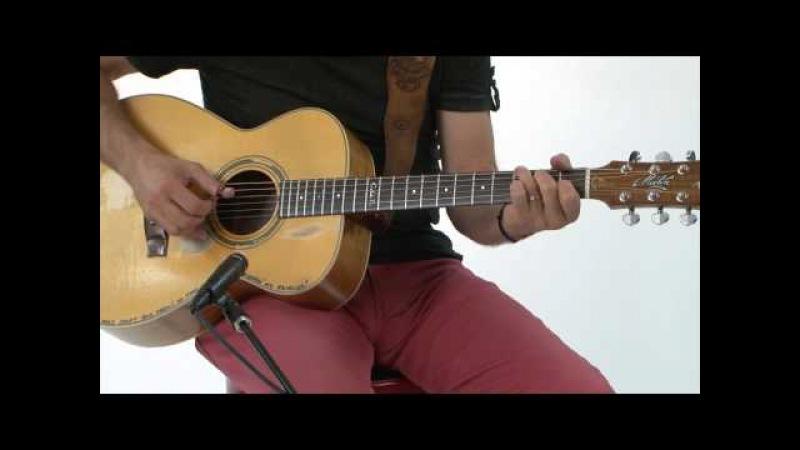 Tommy Emmanuel урок игры в стиле fingerstyle на акустической гитаре