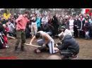 Русские народные игры и забавы в День народного единства, ч.1. г. Владимир. 04.11.2013