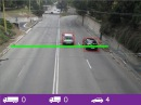 Traffic counting based on OpenCV