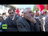 Иран: Тегеран скорбит на похоронах в высокого ранга офицера, убитого в Сирии.