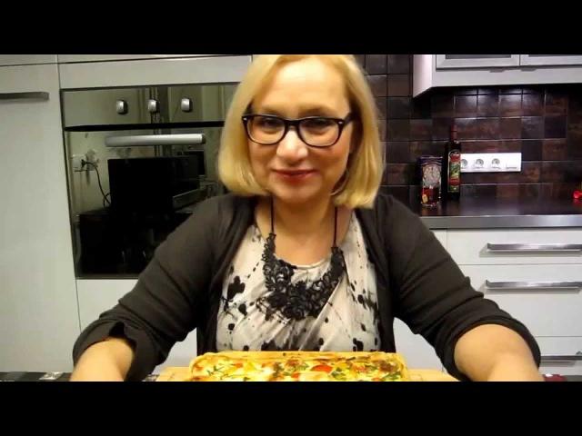 Рыбный пирог а ля французский киш Новогодняя кулинарная книга от блоггеров Youtube