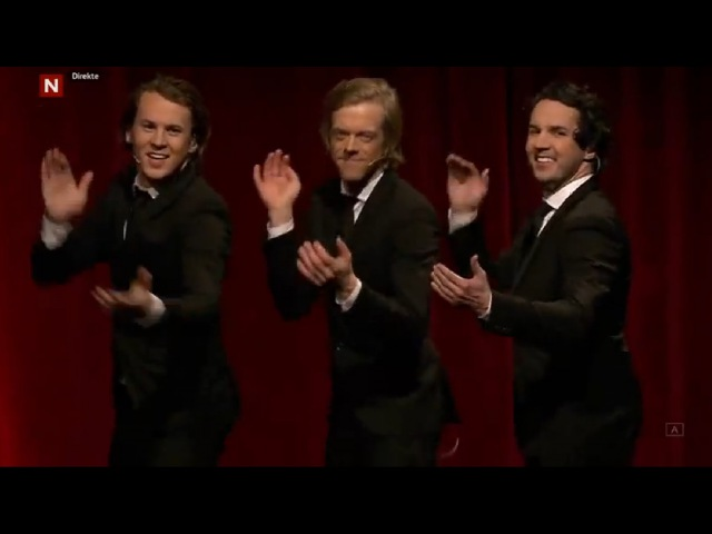 Ylvis - Intro with Kiss Cam - IKMY 15.03.2016 (Eng subs)