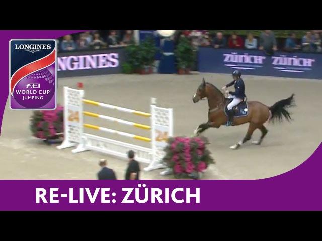Re Live Longines Grand Prix Jumping Zürich Mercedes CSI 2016