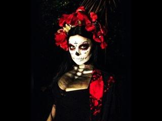Как сделать костюм на хэллоуин своими руками.Легко и быстро!