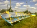 Дешевый солнечный коллектор концентратор Деталь № 7, Стык секций абсорбера