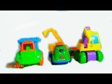 Машинки  для детей о строительной технике игрушки для мальчиков. мультфильм для малышей