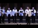 Мужской хор Воронежской филармонии. Рождественская колядка Нова радiсть стала