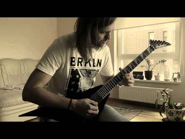 Arnoldas Ekleris - Speeder (U.D.O. instrumental cover) with Guitar solo