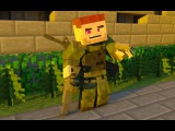 Выживание в мире DayZ MineZ Майнкрафт HCS