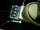 Boss dd-7 digital delay pedal - loop Hold mode demo
