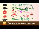 How to create your own brushes in Adobe Illustrator Tutorial 03