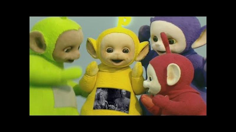 The Teletubbies perform I Fink U Freeky by Die Antwoord (Explicit Lyrics)