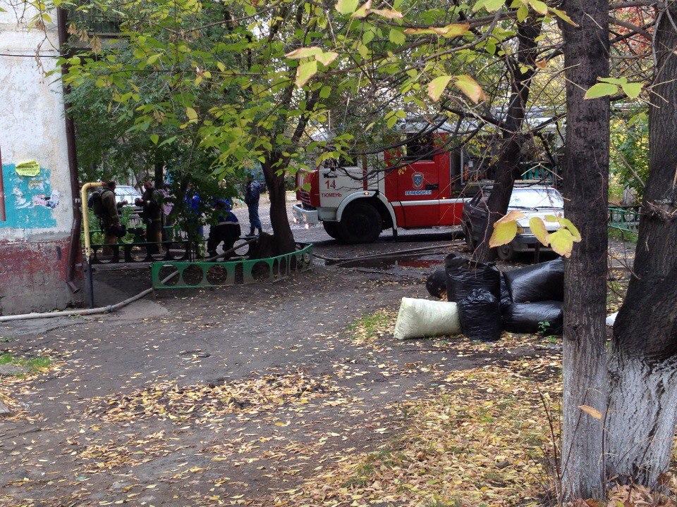 Из горящего дома на Рижской эвакуировали пять человек 2