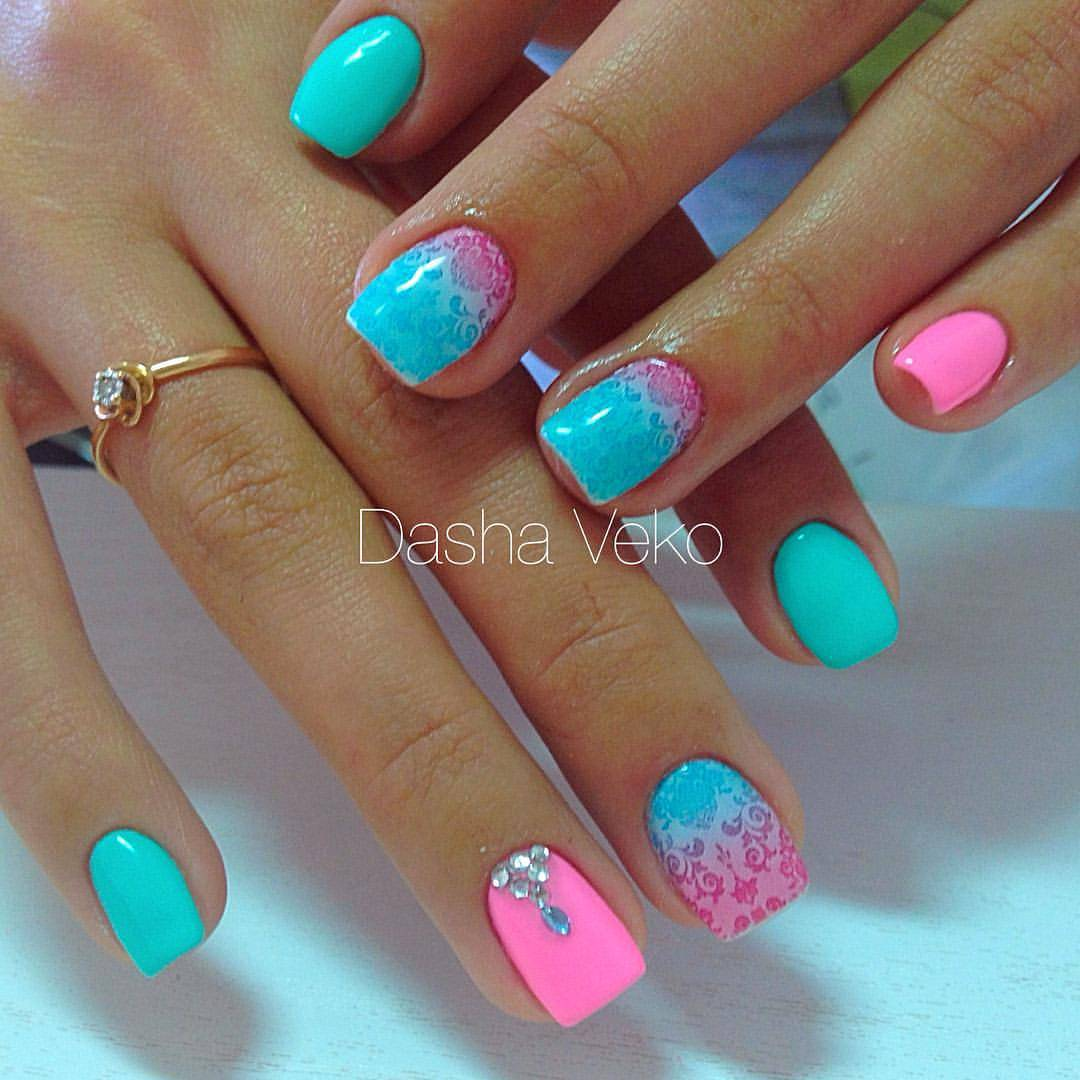 Цвета неонейл на ногтях