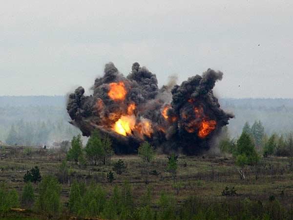 Найденные недалеко от Таганрога 18 снарядов уничтожены
