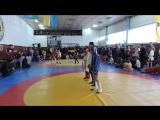 Шиян Женя-боевое самбо(синяя куртка) турнир