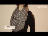 Как завязать шарф, палантин, платок? Много модных узлов в этом видео! vezete.com