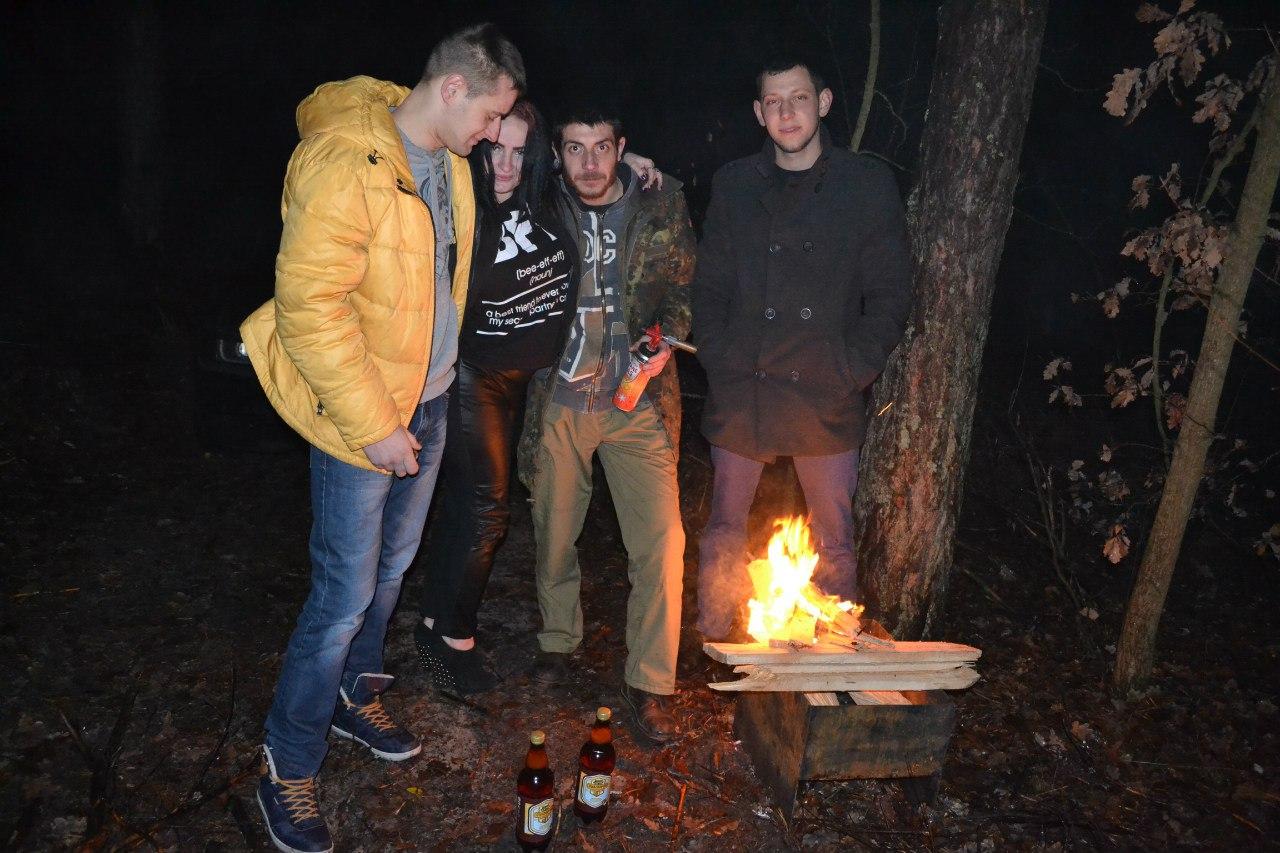 23-24.11.15 г. Ночь в лесу. Елена Руденко ( 57 фото) FcfspBV5PYI