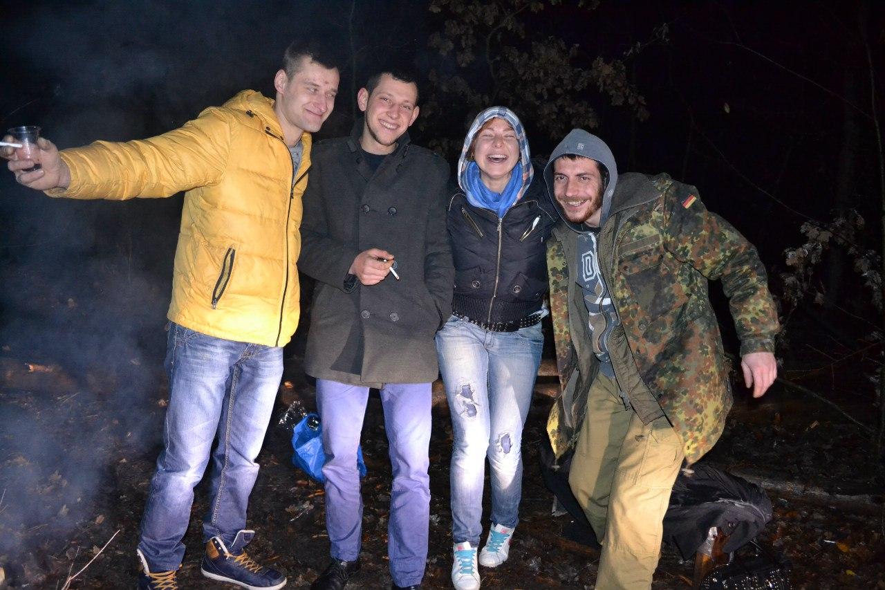 23-24.11.15 г. Ночь в лесу. Елена Руденко ( 57 фото) COZOlOeZvrI