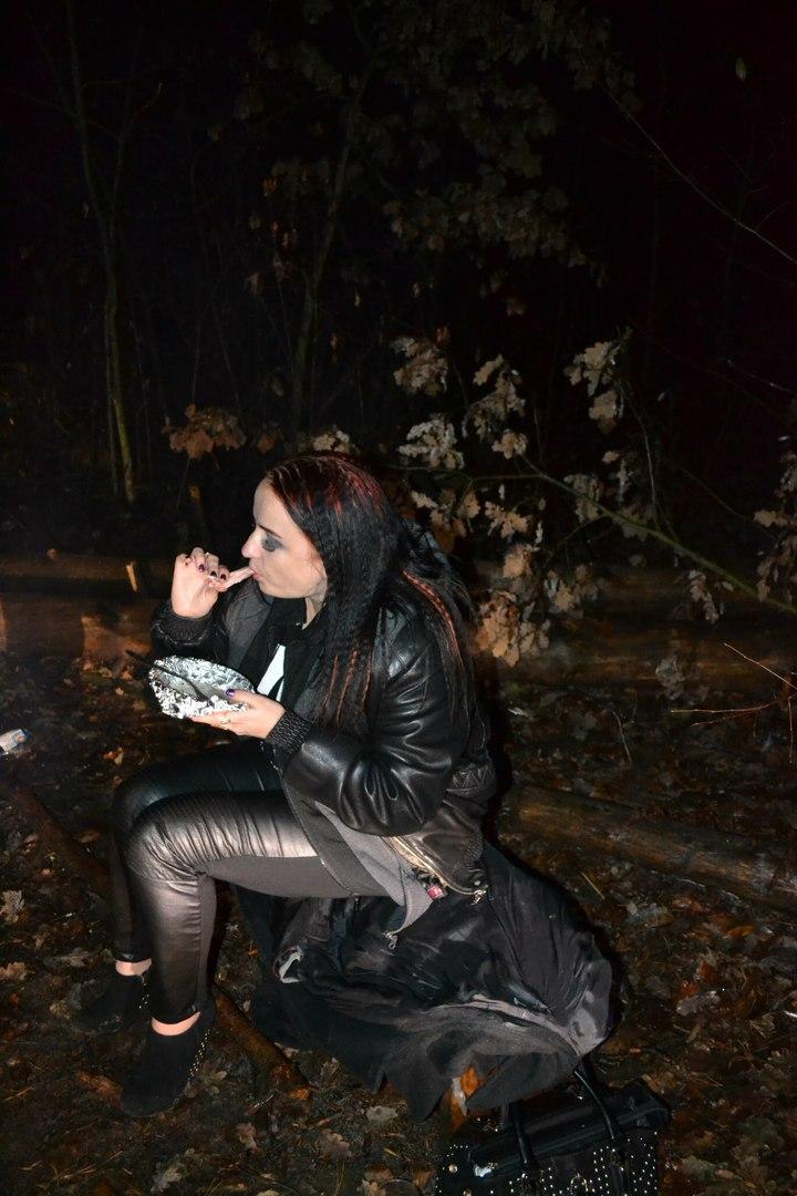 23-24.11.15 г. Ночь в лесу. Елена Руденко ( 57 фото) Zx5RuHh2AEI