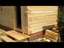 Как построить правильно баню из бруса 150х150