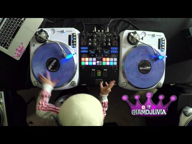 Worlds Youngest DJ DJ Livia tributes to Trinere V. Farrington