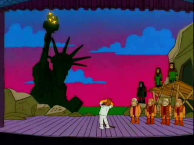 The Simpsons Planet Of The Apes Musical Dr Zaius