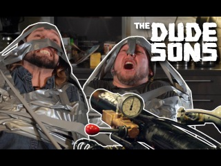 The Dudesons - Duct Tape Duel Challenge!! - The Dudesons