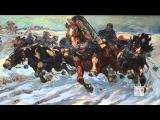 В Москве открылась выставка художника-баталиста Николая Самокиша Крымские баталии (24.09.2015)