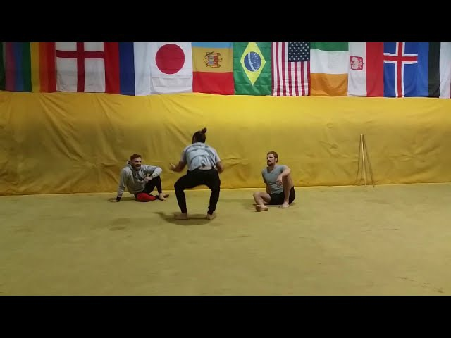 Unseen footage: Conor McGregor and Ido Portal's first encounter at SBG(HD)