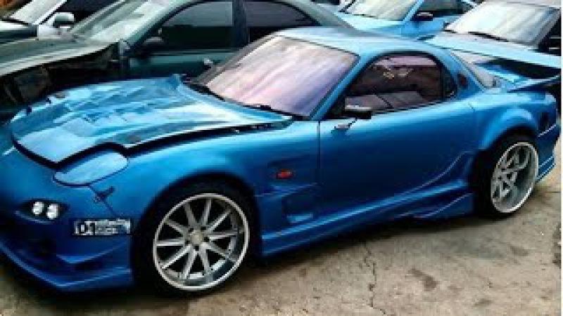 Mazda RX-7 800 л.с. Ротор (РПД) 16 тыс/об турбо 2 бара ч. 1