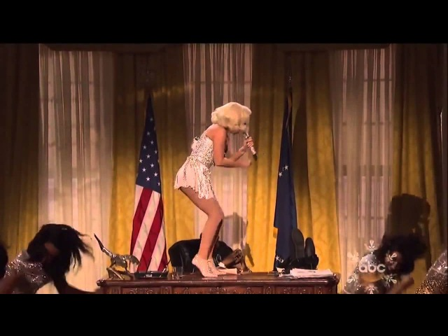 Lady Gaga ft R Kelly Do What U Want live AMA 2013 HD