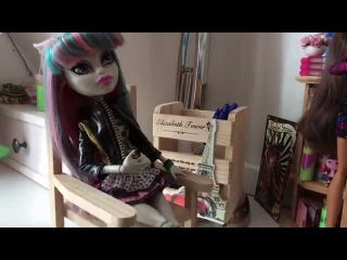 Stop Motion Monster High (Стоп моушен монстер хай) Румбокс