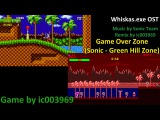 Whiskas.exe OST Game Over Zone Sonic the hedgehog - Green hill zone