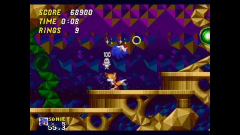 Прохождение Sonic the Lost Worlds (Hidden Palace Zone(act 1-2))