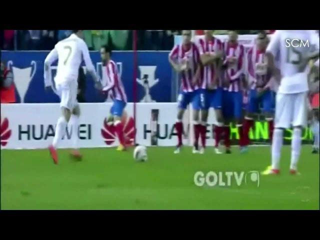 Cristiano Ronaldo Dead Ball knuckle Free Kick Goal vs Atletico Madrid