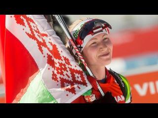 Биатлон  Чемпионат Европы в Тюмени, Россия  Женщины  Гонка преследования 27 02 2016