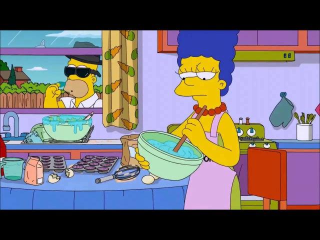 Симпсоны пародия на Во все тяжкие