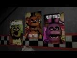 Песня Фнаф(5 ночей с Фредди(1,2) суперовая анимация!На английском!Автор песни-The Living