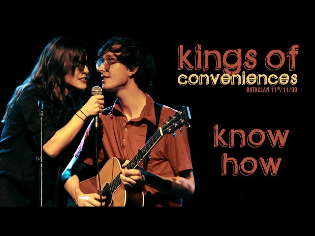 Kings Of Convenience Know How ft Feist live at Le Bataclan