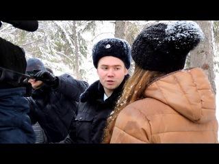 Репортаж с полицейского квеста для детей в Омске(12.2015)