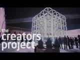 Massive Lightbox Acts Like It's Alive Origin By UVA &amp Scanner
