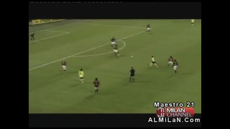 Милан 0 1 Барселона ЛЧ 2006 Первый матч