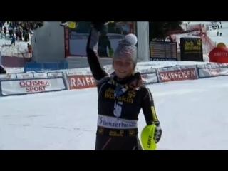 Mikaela Shiffrin 1st slalom overall victory