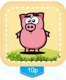 Свинья из игры Ферма Соседи